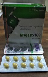 Natural Micronised Progesterone 100mg Softgel Capsules