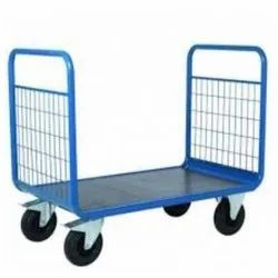 Mild Steel Material Handling Trolley, For Warehouse, Load Capacity: 500 Kg