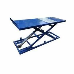 Foot Operated  Two Wheeler Ramp Lift