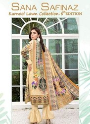 Sana Safinaz Kurnool 6th Edition Karachi Dress Material Catalog