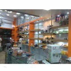 Showroom Building Construction Service, Jewellery Shop Interior