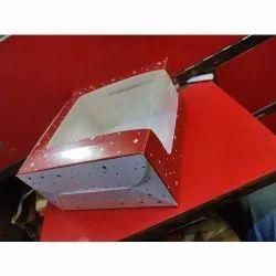 Printed Window Cake Box