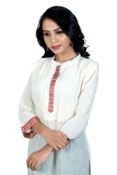 Casual Wear Straight Ladies Khadi Cotton Kurti