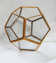 Pentagon Geometric Terrarium