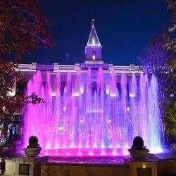 Outdoor Dancing Fountain