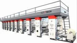 5 Colour Rotogravure Printing Machine