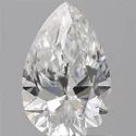 0.90 Pear Cut Natural Diamond GIA Certified