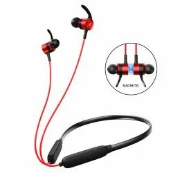 Jmart Premium Sports Bluetooth Headset (Black, Red, In the Ear)