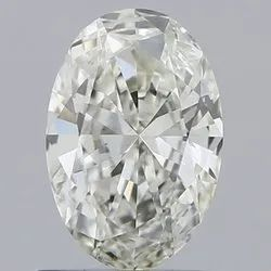 0.70ct Oval J VS2 Natural Diamond