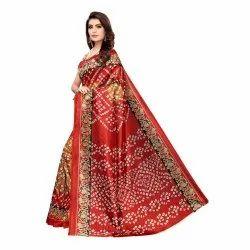 Party Wear Heavy Printed Saree