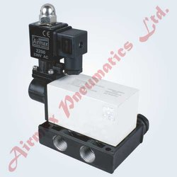 5/2 Way Poppet Single Solenoid Valve
