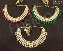 Designer Wedding Kundan Necklace Set