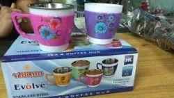 Evolve Plastic Steel cups