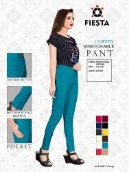 Cotton Plain Fiesta Pant, 40, Waist Size: L To 3XL