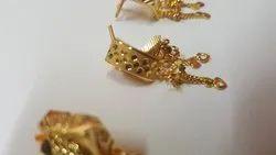 Latkan Gold Tops Earrings