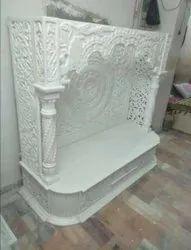Pure White Stone Temple