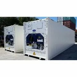 Refrigerated Container For Perishable Goods