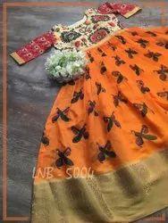 South Indian Printed Cotton Kurti