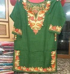 WOOL Embroidered kashmiri pherans