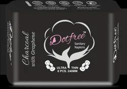 DOTFREE Charcoal Sanitary Napkins