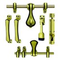 Zinc Doors Maharaja Brass Door Kit, Size: 10 X 10 X 3 Cm