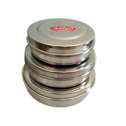 3 Piece Set Stainless Steel Container