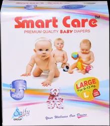 Disposable Smart Care Baby Diaper ( Large) 90 Pcs Pack, Age Group: 1-2 Years