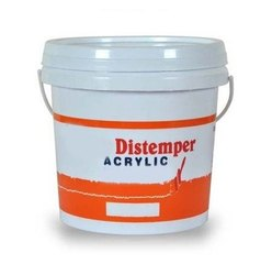 Matt Liquid 20L Acrylic Distemper Paint, Packaging Type: Bucket