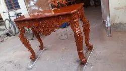 Modern Wooden Designer Rectangular Side Table