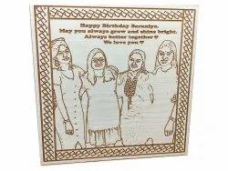Engraved Wooden Frames, For Decoration