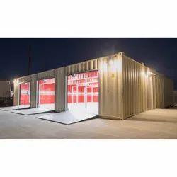Cargo Container Garage Shop