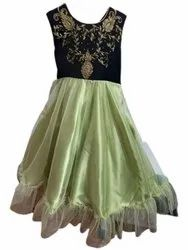 Girls Party Wear Embroidery Dress