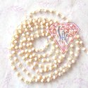 White Beads Chain