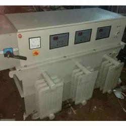 300 KVA Three Phase Servo Controlled Voltage Stabilizer