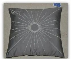 Classic Stylish Beaded Fancy Cushion Cover