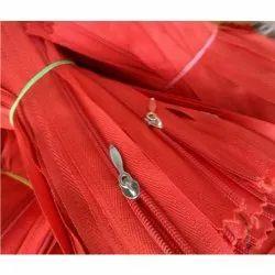 For Garment Red Pocket Zipper