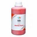Orange 5 Pigment Paste For Water Based Paste