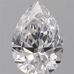 0.70ct Pear D VVS1 GIA Certified Natural Diamond