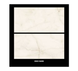 Gloss Lenora Onix Dark Vitrified Tile, Thickness: 11mm, Size: 600x1200mm