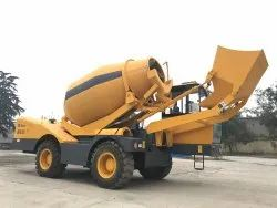 Tilting Drum Slewing Drum Concrete Mixer