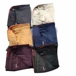 Regular Fit Mens Casual Wear Cotton Trouser