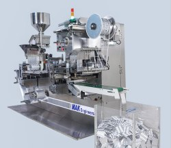 Fully Automatic Double Track ALU Blister Packaging Machine