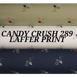Candy Crush Laffer Print Mens Shirt Fabric