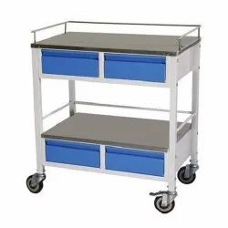 Medicine Trolley With Drawer