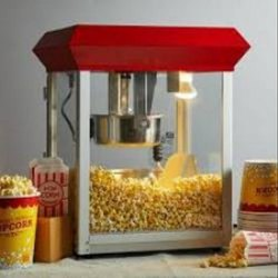 Popcorn Machine Ss Indian Big