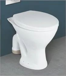 Cura White Perry S And P-7003 Water Closet, Size/Dimension: 530x375x400mm
