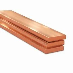 Copper Busbars, For Power Distribution, Thickness: Standard Size