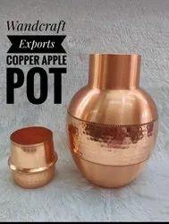 Copper Apple Pot Sugar Pot Bedroom Copper Water Bottle