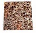 Square Imperial Beige Ceramic Glossy Floor Tile, For Flooring, Size: 2z2 Ft
