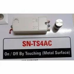 SN-TS4AC Modular Touch Metal Surface Sensor Switch, 16A